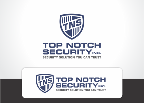 Top notch Security Inc. A Logo, Monogram, or Icon  Draft # 125 by QueenZahra