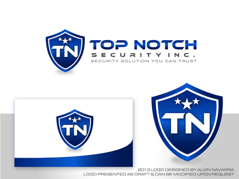 Top notch Security Inc. A Logo, Monogram, or Icon  Draft # 142 by alvinnavarra