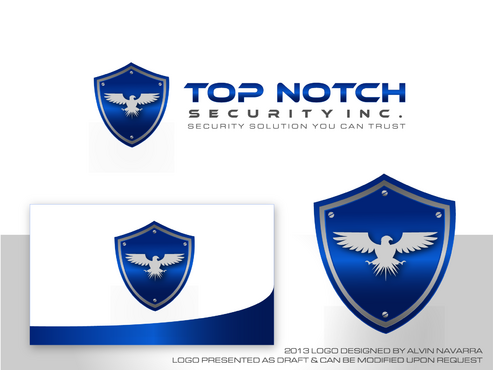 Top notch Security Inc. A Logo, Monogram, or Icon  Draft # 143 by alvinnavarra