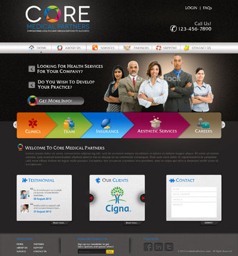 Core Medical Partners Complete Web Design Solution  Draft # 7 by pivotal