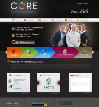 Core Medical Partners Complete Web Design Solution  Draft # 15 by pivotal