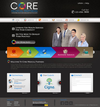 Core Medical Partners Complete Web Design Solution  Draft # 16 by pivotal