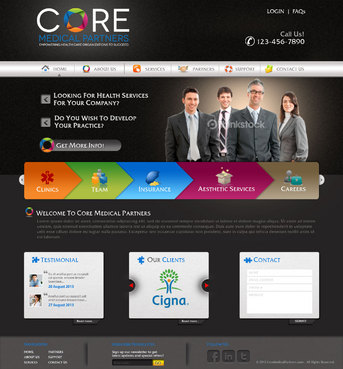 Core Medical Partners Complete Web Design Solution  Draft # 17 by pivotal