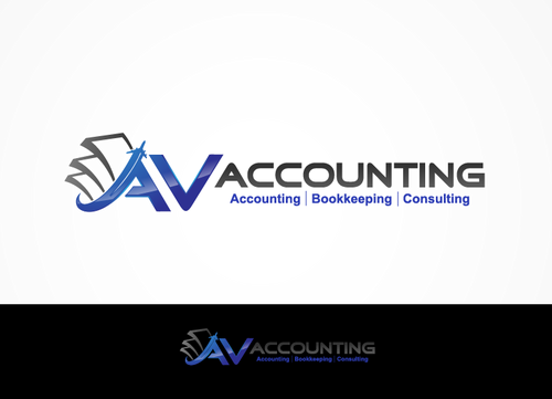 Av Accounting A Logo, Monogram, or Icon  Draft # 41 by hands4art