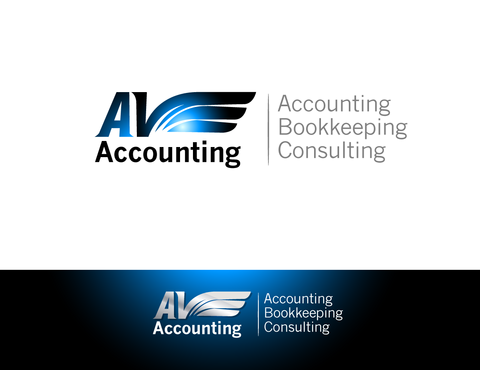 Av Accounting A Logo, Monogram, or Icon  Draft # 52 by pivotal