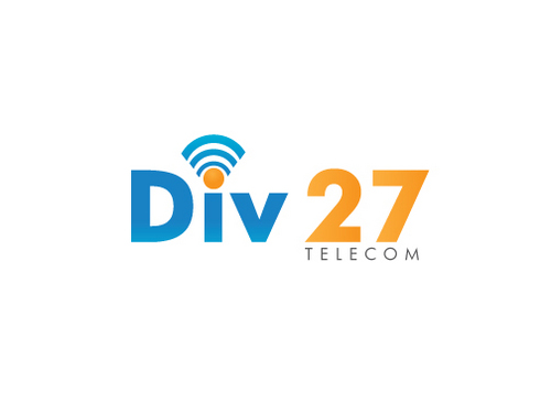 Division 27 Telecommunications, Inc.or Div 27 Telecom A Logo, Monogram, or Icon  Draft # 2 by Designfeedz