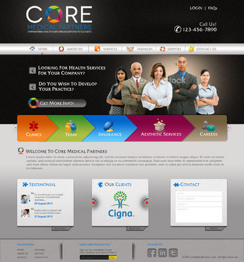 Core Medical Partners Complete Web Design Solution  Draft # 58 by pivotal