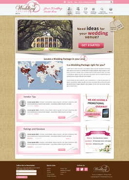 Huge Website so please give us the best you have! Web Design  Draft # 133 by itmech