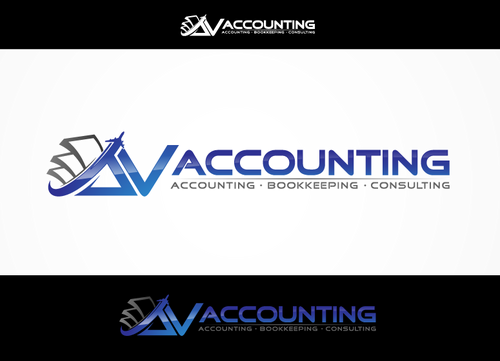 Av Accounting A Logo, Monogram, or Icon  Draft # 84 by hands4art