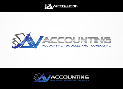 Av Accounting A Logo, Monogram, or Icon  Draft # 97 by hands4art