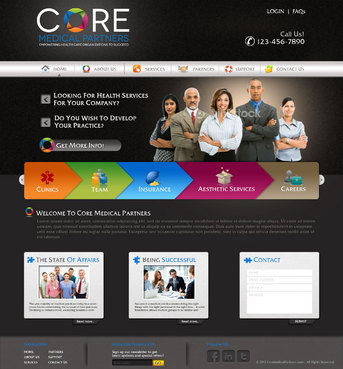Core Medical Partners Complete Web Design Solution  Draft # 92 by pivotal