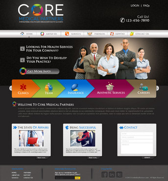 Core Medical Partners Complete Web Design Solution  Draft # 93 by pivotal