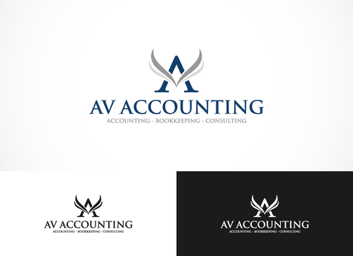 Av Accounting A Logo, Monogram, or Icon  Draft # 106 by Karen