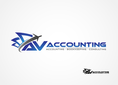 Av Accounting A Logo, Monogram, or Icon  Draft # 125 by hands4art