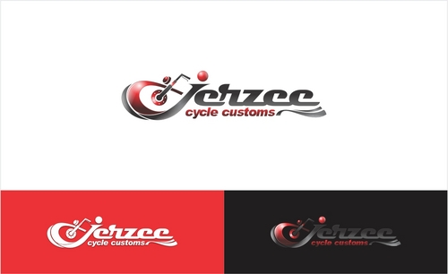 Jerzee Cycle Customs A Logo, Monogram, or Icon  Draft # 21 by SecondGraphic