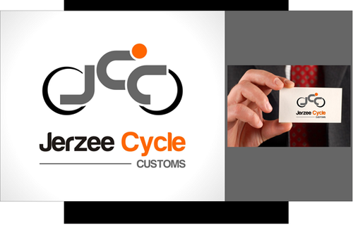 Jerzee Cycle Customs A Logo, Monogram, or Icon  Draft # 22 by irdiya