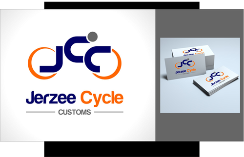 Jerzee Cycle Customs A Logo, Monogram, or Icon  Draft # 24 by irdiya