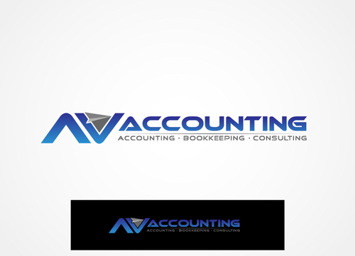 Av Accounting A Logo, Monogram, or Icon  Draft # 198 by hands4art
