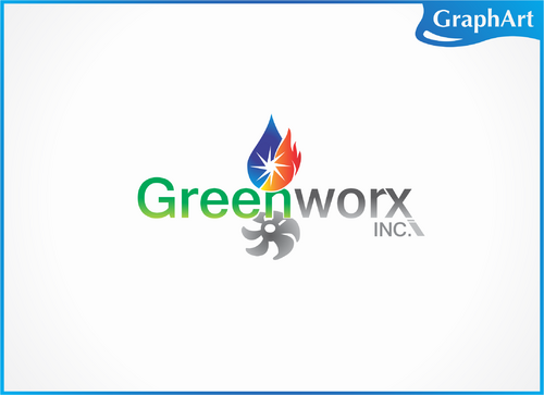 Greenworx, Inc.  A Logo, Monogram, or Icon  Draft # 75 by GraphArt