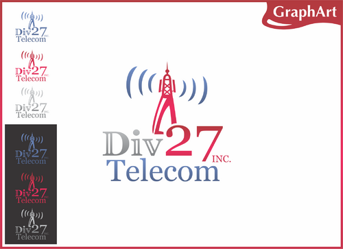Division 27 Telecommunications, Inc.or Div 27 Telecom A Logo, Monogram, or Icon  Draft # 65 by GraphArt