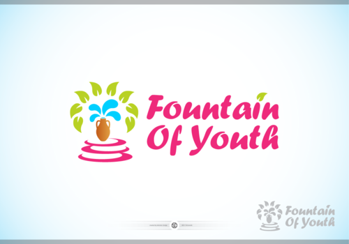 Fountain Of Youth Logo Winning Design by Skovran