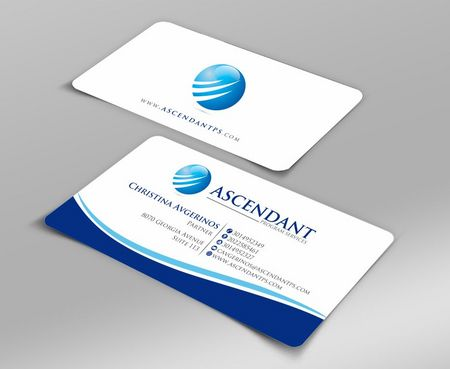 Consulting firm - Engineering/Infrastructure Sector Business Cards and Stationery  Draft # 207 by Deck86