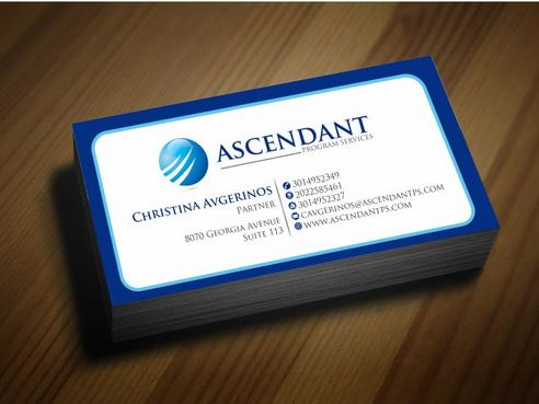 Consulting firm - Engineering/Infrastructure Sector Business Cards and Stationery  Draft # 208 by Deck86