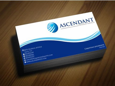 Consulting firm - Engineering/Infrastructure Sector Business Cards and Stationery  Draft # 221 by Deck86