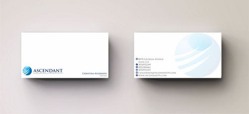 Consulting firm - Engineering/Infrastructure Sector Business Cards and Stationery  Draft # 227 by Deck86