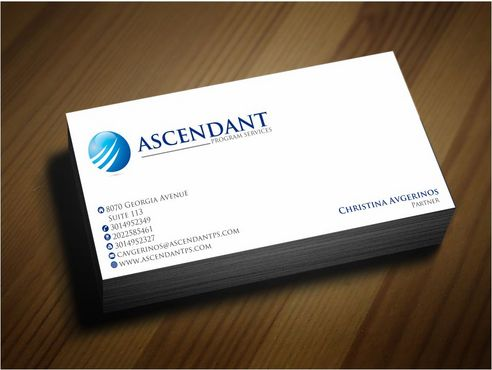 Consulting firm - Engineering/Infrastructure Sector Business Cards and Stationery  Draft # 238 by Deck86
