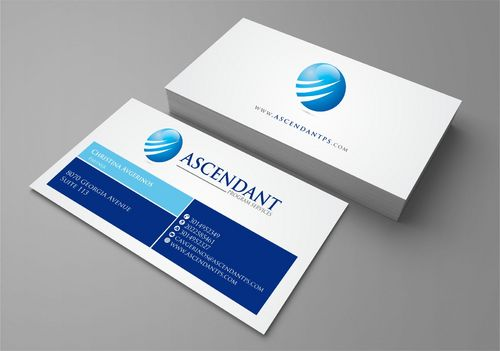 Consulting firm - Engineering/Infrastructure Sector Business Cards and Stationery  Draft # 240 by Deck86
