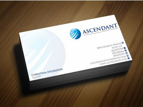 Consulting firm - Engineering/Infrastructure Sector Business Cards and Stationery  Draft # 243 by Deck86