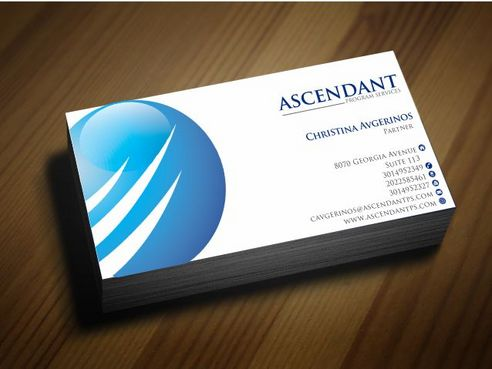 Consulting firm - Engineering/Infrastructure Sector Business Cards and Stationery  Draft # 245 by Deck86