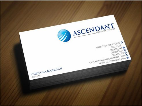 Consulting firm - Engineering/Infrastructure Sector Business Cards and Stationery  Draft # 246 by Deck86