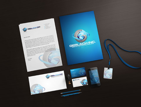 Gerlach Incorporated Business Cards and Stationery  Draft # 170 by xhyo1
