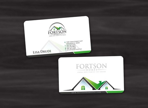 from our family to yours Business Cards and Stationery  Draft # 183 by pixdesign