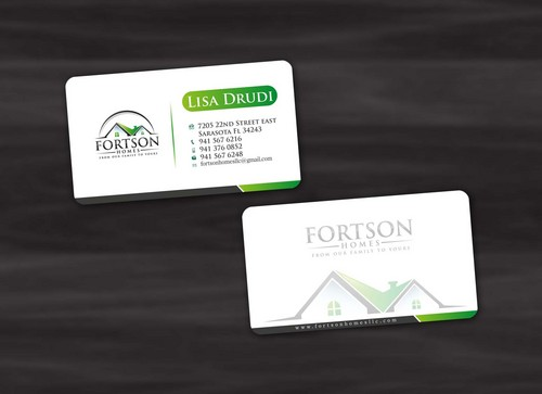 from our family to yours Business Cards and Stationery  Draft # 184 by pixdesign