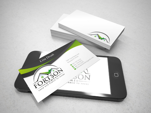 from our family to yours Business Cards and Stationery  Draft # 185 by sevensky