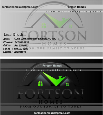 from our family to yours Business Cards and Stationery  Draft # 188 by EHSdesigners