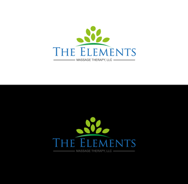 The Elements Massage Therapy, LLC  A Logo, Monogram, or Icon  Draft # 9 by InventiveStylus
