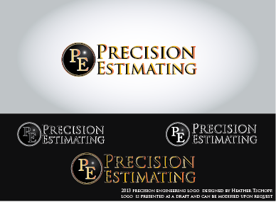 Precision Estimating A Logo, Monogram, or Icon  Draft # 10 by htschopp