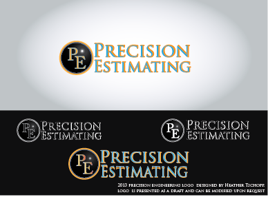 Precision Estimating A Logo, Monogram, or Icon  Draft # 13 by htschopp