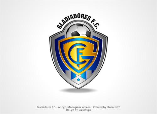 Gladiadores F.C. but not necessarily A Logo, Monogram, or Icon  Draft # 2 by validesign