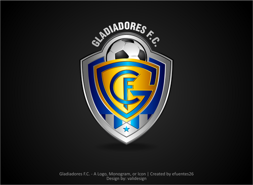 Gladiadores F.C. but not necessarily A Logo, Monogram, or Icon  Draft # 3 by validesign