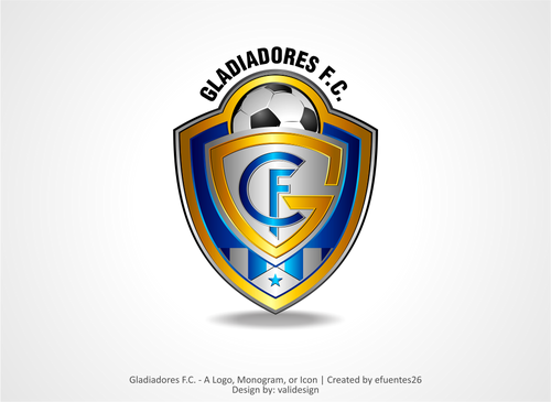 Gladiadores F.C. but not necessarily A Logo, Monogram, or Icon  Draft # 4 by validesign