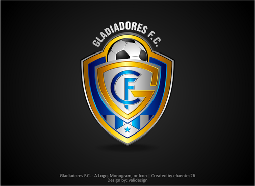 Gladiadores F.C. but not necessarily A Logo, Monogram, or Icon  Draft # 5 by validesign