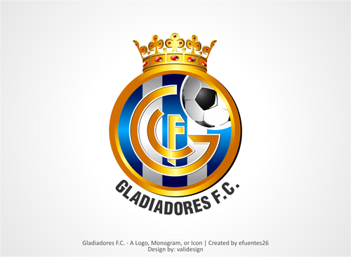 Gladiadores F.C. but not necessarily A Logo, Monogram, or Icon  Draft # 6 by validesign