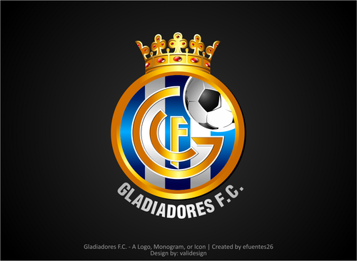 Gladiadores F.C. but not necessarily A Logo, Monogram, or Icon  Draft # 7 by validesign