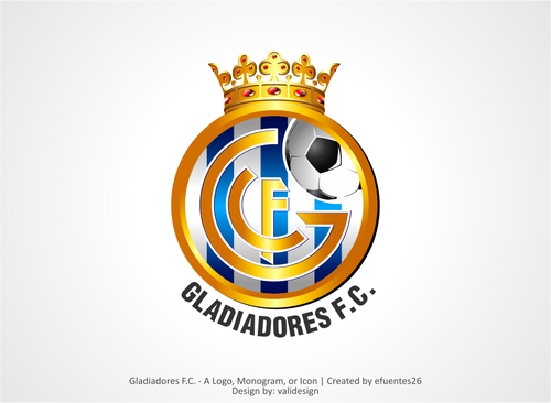 Gladiadores F.C. but not necessarily A Logo, Monogram, or Icon  Draft # 21 by validesign