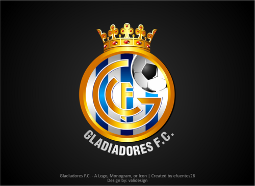 Gladiadores F.C. but not necessarily A Logo, Monogram, or Icon  Draft # 22 by validesign